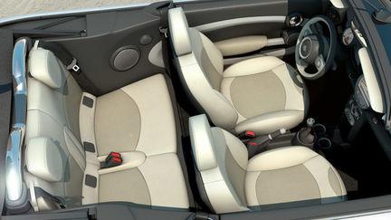 Mini Cooper S cabrio seats
