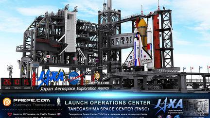 3D Perspective of Tanegashima Space Center (TNSC)