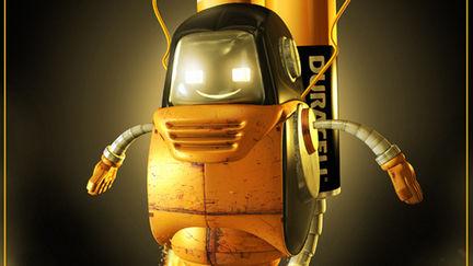 Duracell-robot