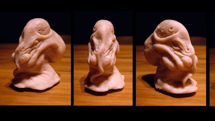 Super sculpey creature concept