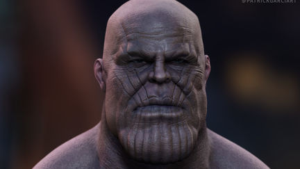 Thanos - Infinity War - Fanart