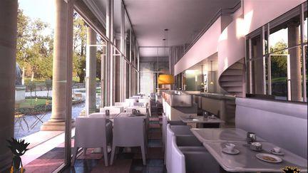 ID-GRAPH / julien weber restaurant ' s interior