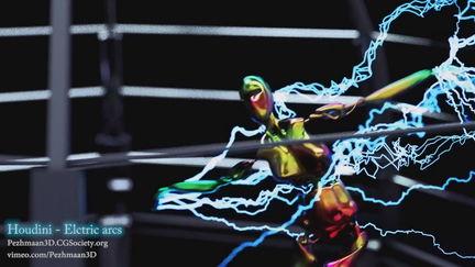 Houdini - Electric Arcs