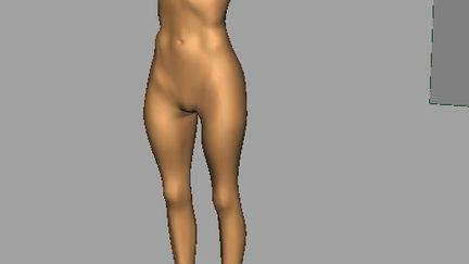 WIP Stephanie Sadorra Maya Female Body