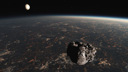 Exo-crossing asteroid