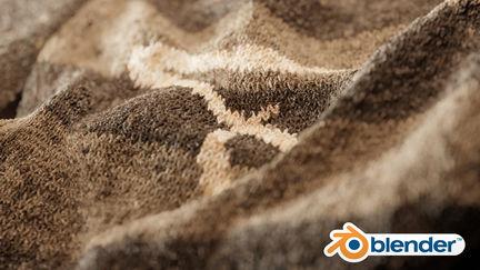 Knittr - Free Procedural Knitwear Shader [Blender]