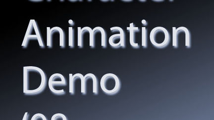 Animation Demo 2008