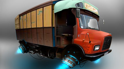 Hover Lorry