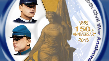 150th Civil War Anniversary Medallion