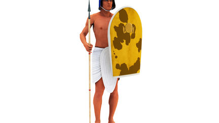 Ancient Egypt Chariot Runner NK