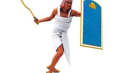 Ancient Egypt Infantryman NK A
