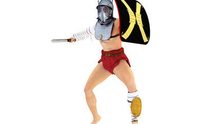 Ancient Rome Gladiator Provocator