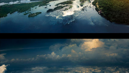 two matte paintings