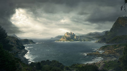 The Lostworld-mattepainting