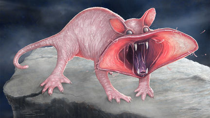 Spitting Spectre Creature Concept