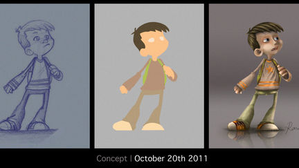 Boy concept - Stages