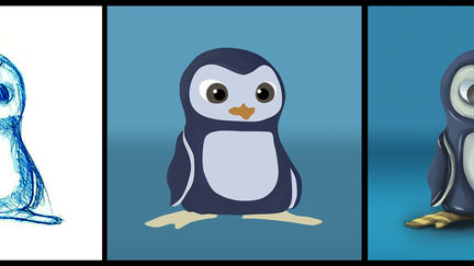 Small Penguin Concept - Stages