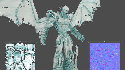 Dominance War V - 3D - Jorge Lescale - God of Darkness_LP AO N