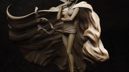 sorcerer/sculpt/3d