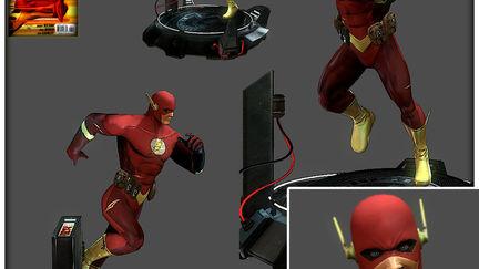 The Flash/video game art/beautyshot