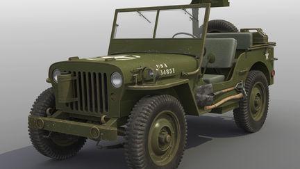 Willy's U.S. Army Jeep