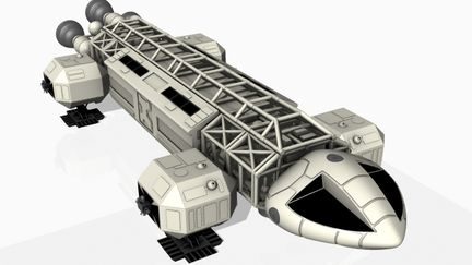 Space 1999 ''eagle'' Space craft