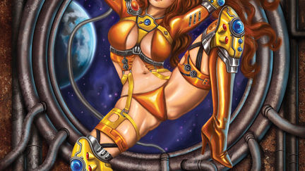 Space Girl Pinup