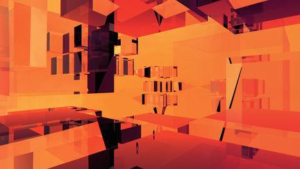 Orange Glass City