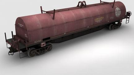 BNSF Coil Steel Car