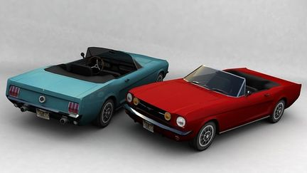 Ford Mustang 1966 Cabrio