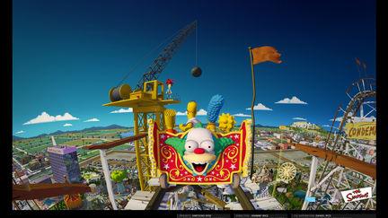Simpsons Ride Film - 01