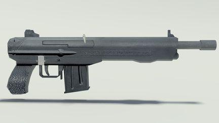 Gun after Textures 1