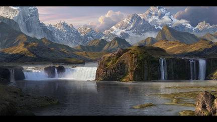 Cascades of the three lakes