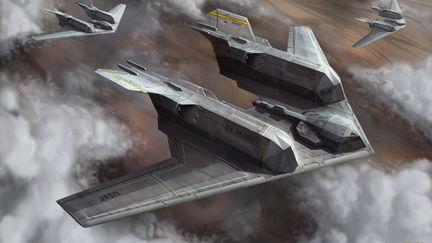 Stealth Cargo Plane