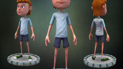 Cartoon - 3D character design for games