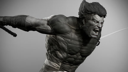 BROWN WOLVERINE ( 1/4 scale for XM STUDIOS )
