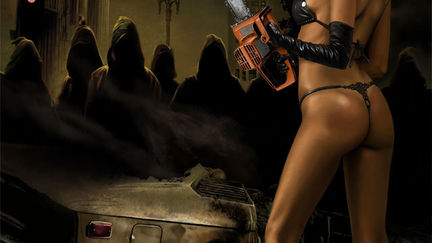 chainsaw babe 1