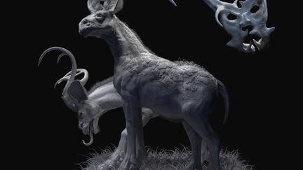 Dreadful deer