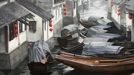 Canal Towns in Southern China
