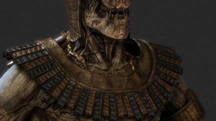 Gigantic egyptian zombie (Closed)
