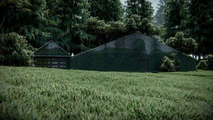 cg environment rendering