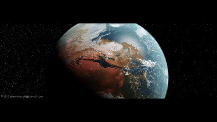 Terraformed Mars Concept 2