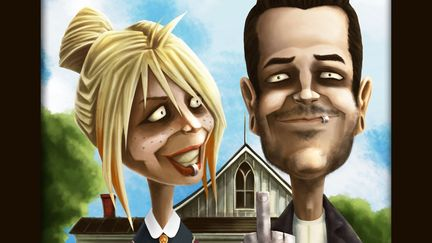 American Gothic spoof