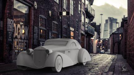 The Round Door Rolls – 1925 Rolls-Royce Phantom I