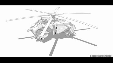 a concept military vehicle design.