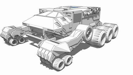 thundercats concept - thundertank