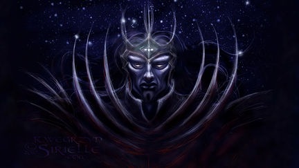 Morgoth with Silmarili concept