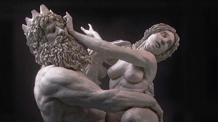 Bernini Sculpture - New materials and relight