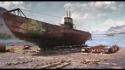 Rusty U boat