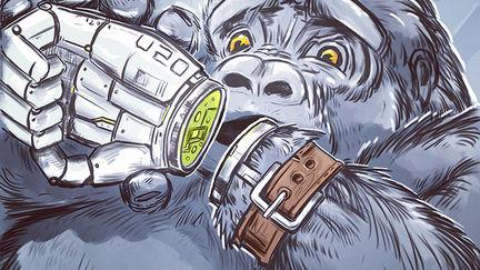 Survivor, Gorilla Concept Drawing